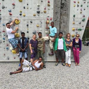 Kletteraktion mit dem Deutschen Alpenverein e.V.